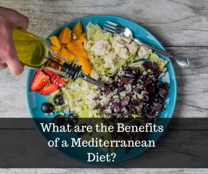 What are the benefits of the Mediterranean-style diet?
